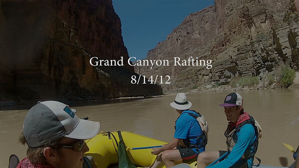 Grand Canyon Rafting 2999 081412