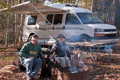 Camping at Hocking Hills