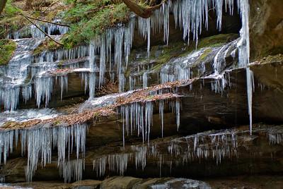 Hocking Hills Winter Hike 08 011908