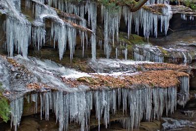 Hocking Hills Winter Hike 09 011908