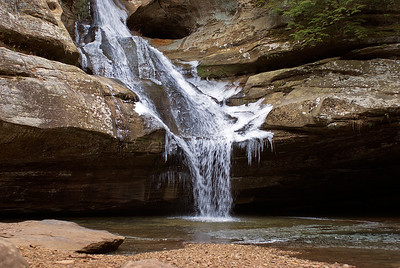 Hocking Hills Winter Hike 02 011908
