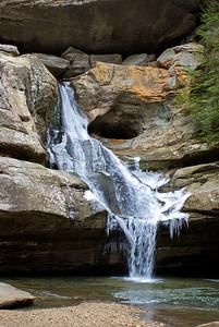 Hocking Hills Winter Hike 03 011908