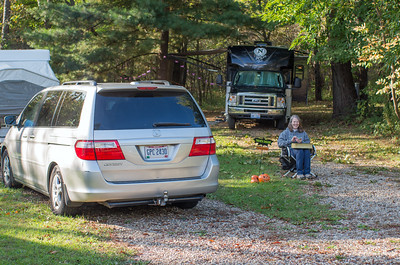 October Camping with the Grandkids
