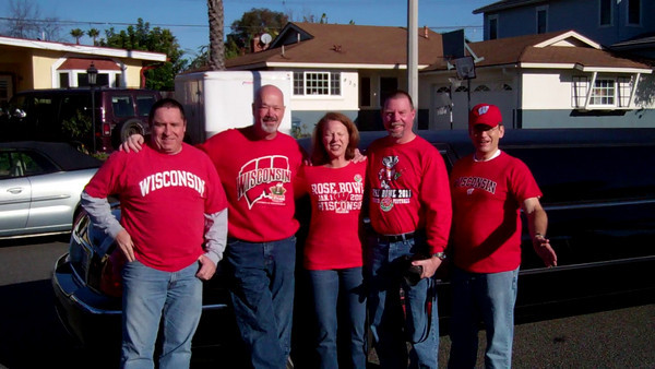 2011 Rose Bowl3 Pre-Limo Ride