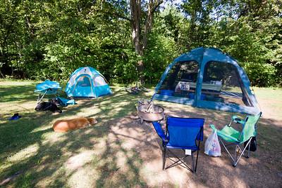 Salt Fork Camping 2008