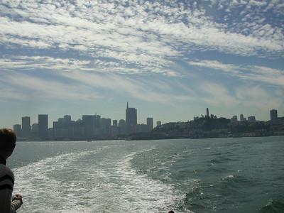 san francisco view from alcatraz boat 2