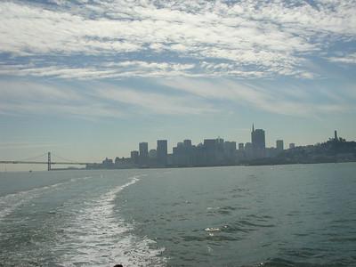 san francisco view from alcatraz boat 3