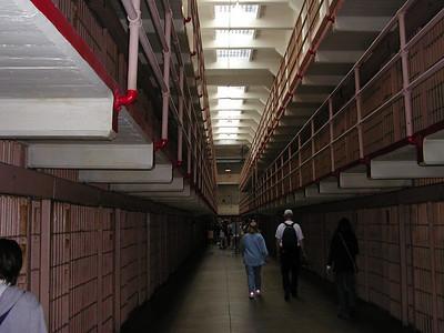 san francisco alcatraz prison cell block