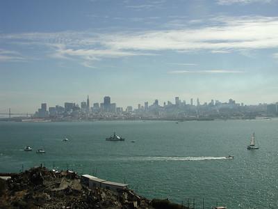 san francisco view from alcatraz