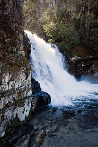 Hike to Abram Falls off of Cades Cove Loop road