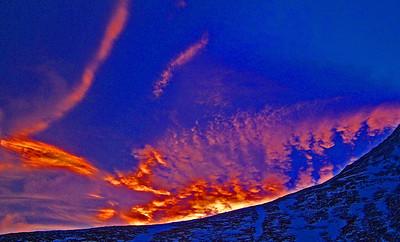 Ský við Hafrafell