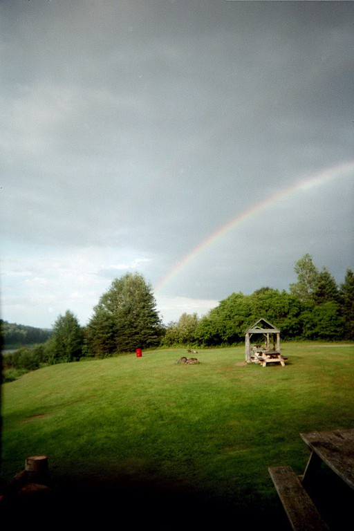 Pellatiers Campground Double Rainbow just for Tim