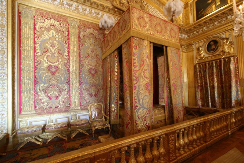 Where King Louie slept