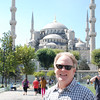 Keith at the Blue Mosque
