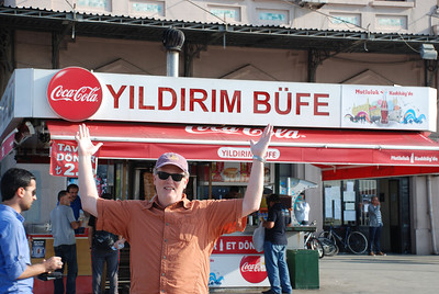 Coca Cola is very popular in Istanbul, which is good 1) for us and 2) because Coke's CEO is Turkish.