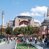 The Hagia Sophia, built in 537 AD