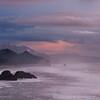 canon beach sunset