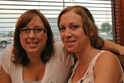 0040 Angela and Lisa at Irish Tavern Thingie
