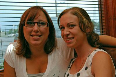 0038 Angela and Lisa at Irish Tavern Thingie