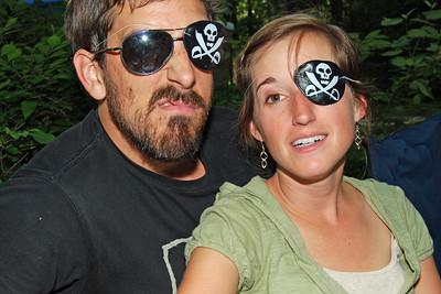 0070 Capt Dylan and Swabbie Monique at Yogi Bear Jellystone Park