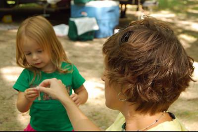 0050 Sunny and Kristen at Yogi Bear Jellystone Park