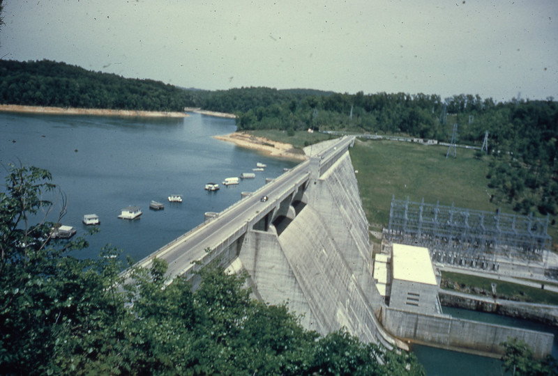 Norris Dam in Kentucky, which created Kentucky Lake.