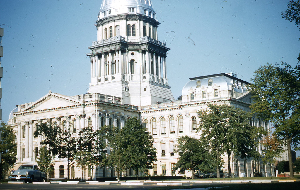 The Illinois State Capital in Springfield, IL.