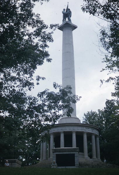 Monument on top of Lookout Mountain to Confederate and Union Soldiers.