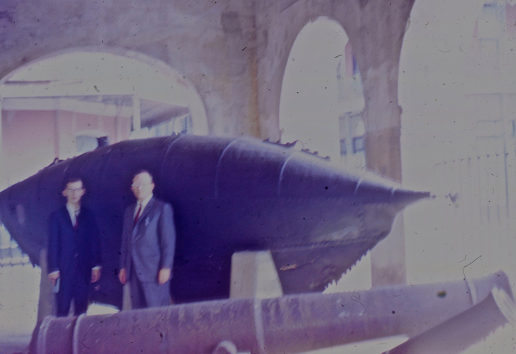 "William A. & G. A. Shaffer with the Confederate Submarine ""Pioneer""."
