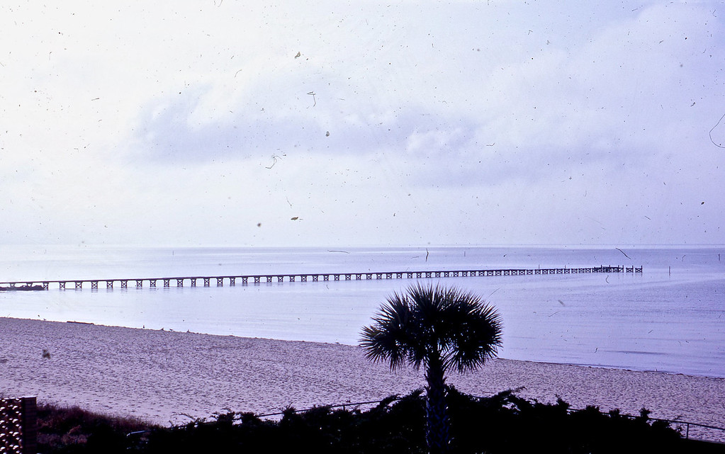 View from our motel in Biloxi, MS.