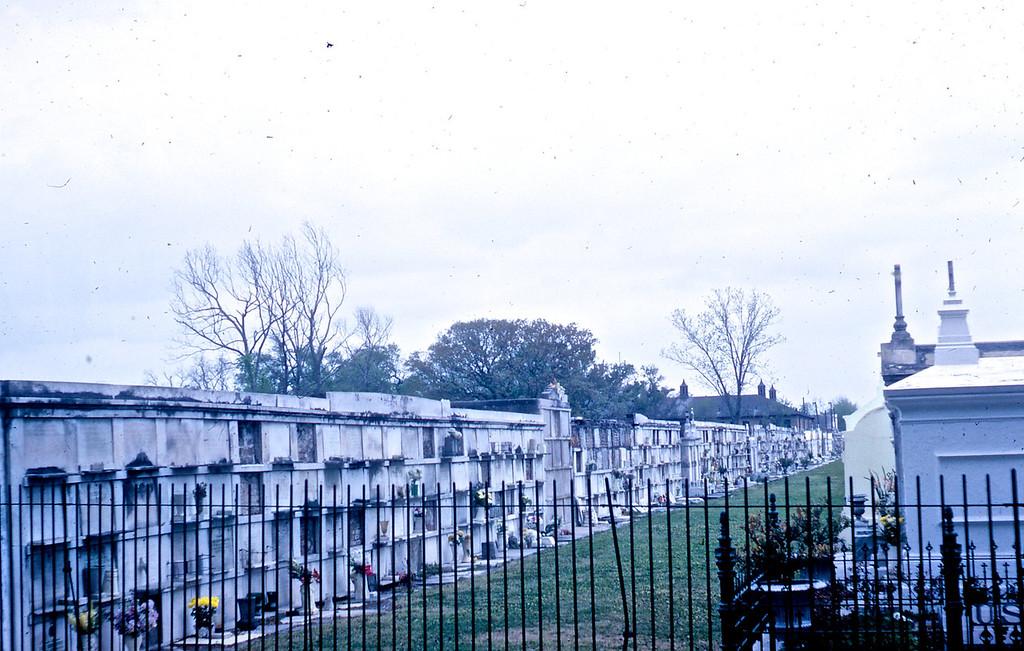 St. Louis Cemetery in New Orleans, LA.