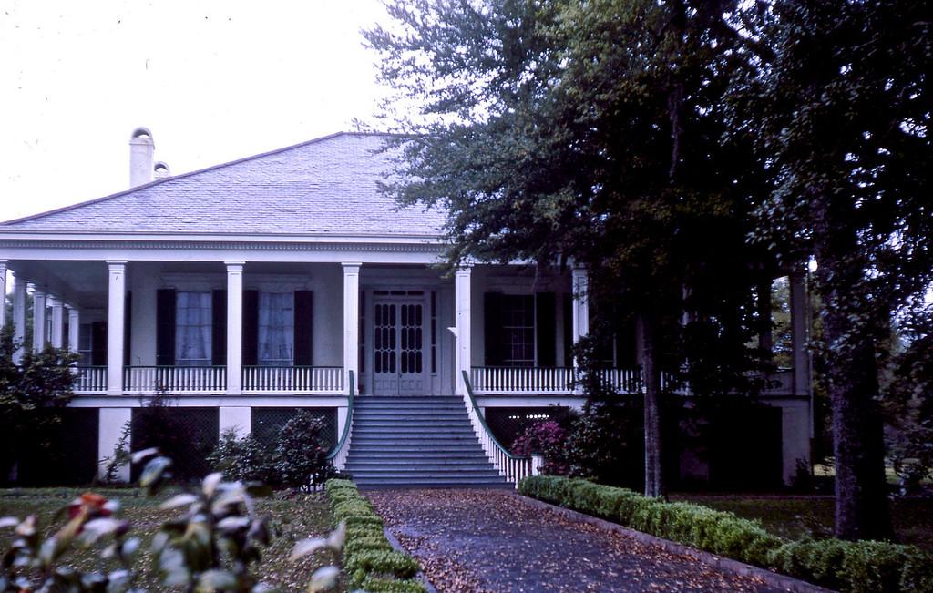 """Beavoir"", the home of Jefferson Davis in Biloxi, MS."