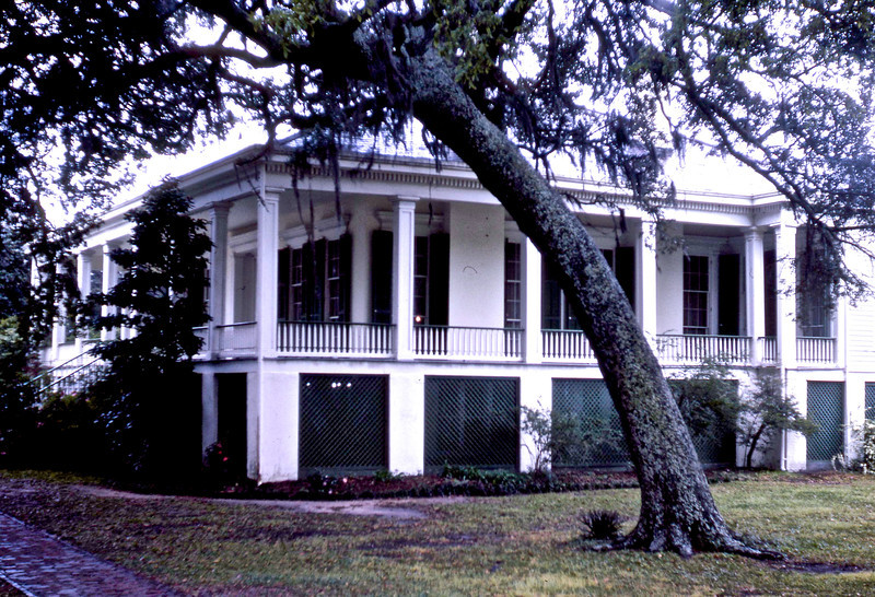 """Beavoir"", the home of Jefferson Davis in Biloxi, MS."