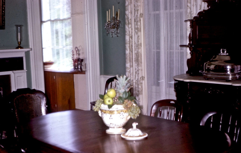 Jefferson Davis' Dining Room - Biloxi, MS.