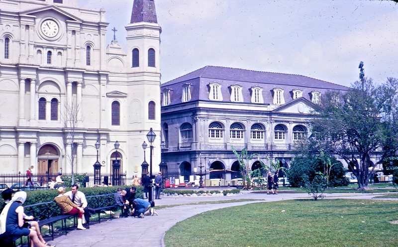 St. Louis Cathedral and the Presbytere.