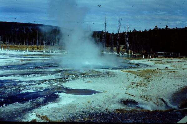 Grand Tetons and Old Faithful Gysers - Sep 1981