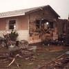 Damaged house in Saragosa, TX
