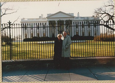 1987 - Christmas in DC with Mom & Dad