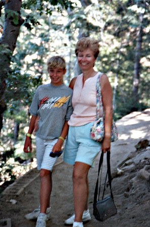 1989 July Lake Arrowhead San Bernadino Mts