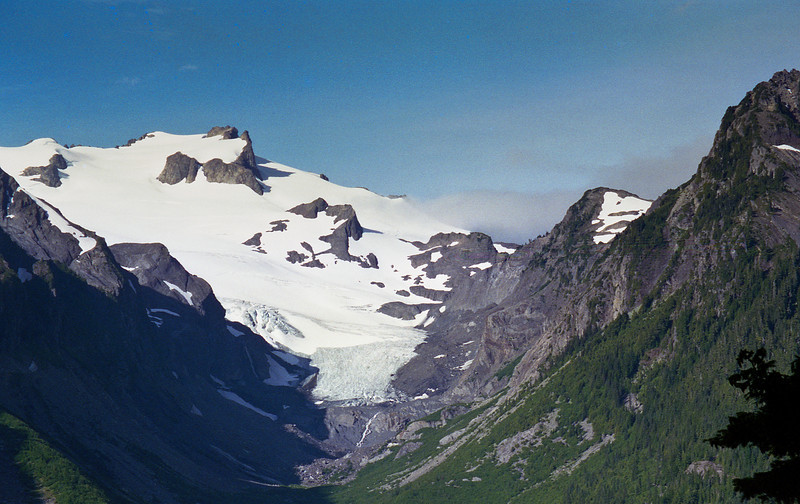 Blue Glacier in the distance and Mount Olympus