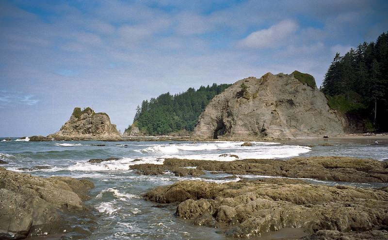 Coastal seashore