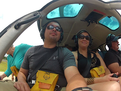 1st Anniversary Kaui Helicopter Tour