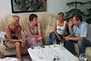 Ursula Rajces, Pat Parris, Patrizia Deutscher, Chris Burghard