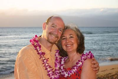 Maui 2004: Karl & Linda