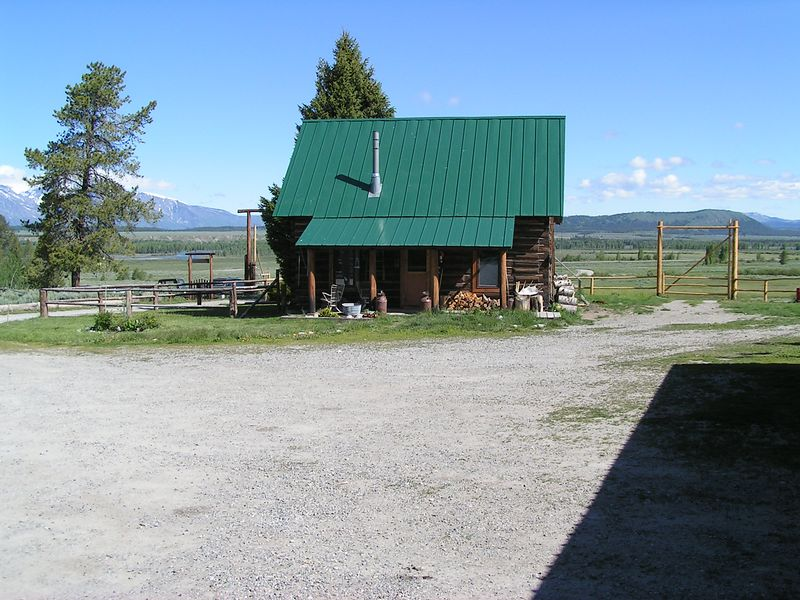 Triangle X Ranch in the Snake River valley, north of Jackson Hole, Wyoming.  Looks like an excellant place to work in the summer of 2005!