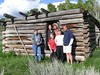 Looks like the Wild Bunch found their way to the Shane cabins, north of Kelly, Wyoming in the Snake River valley.