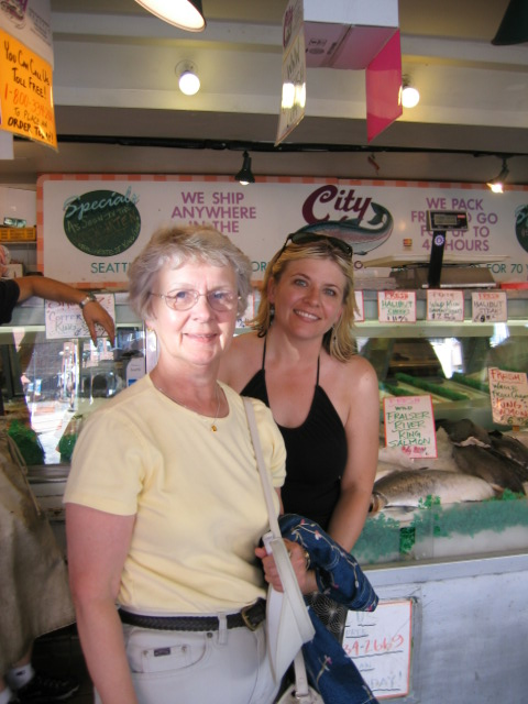 My favorite women in Pike Place Market