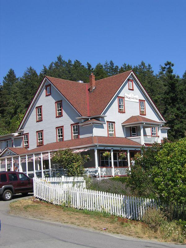 Hotel on Orcas Island