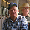 Pappaw and Dad riding the Metro