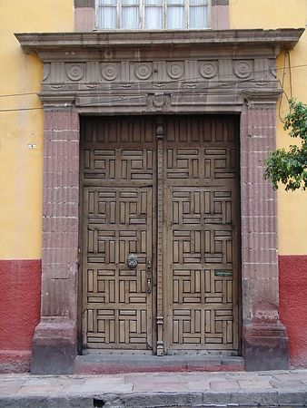 Some of the doors of San Miguel.  I will go sometime just to shoot doors.  They are wonderful.  Most are made out of Mesquite which lasts forever.